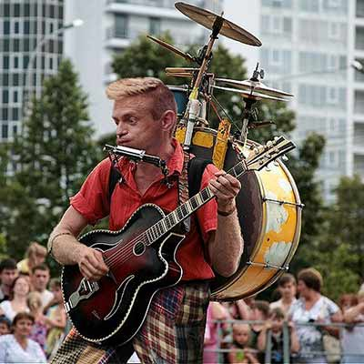 one-mand-band
