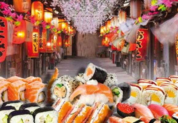Street Food SUSHI-VILLAGE-Festival-dellOriente